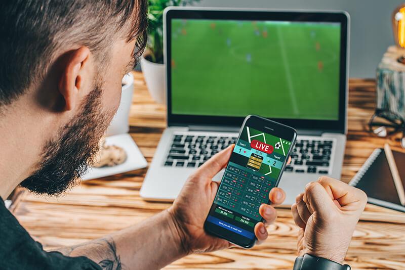 Meczyki piłki nożnej przykładem transmisji na żywo
